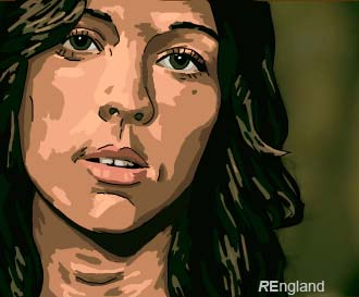 Brandi Carlile artwork by Rhianon England (small)