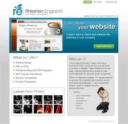 rengland.net Portfolio - Home page