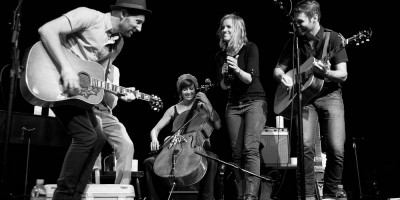 Mat Kearney and katie herzig at the Triple Door